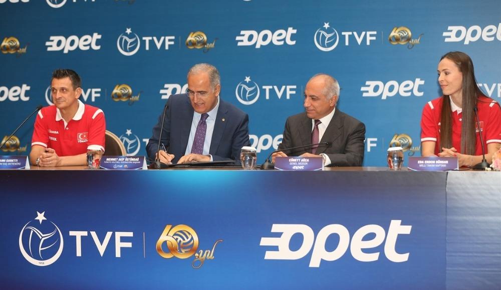 TVF'nin enerji sponsoru OPET oldu
