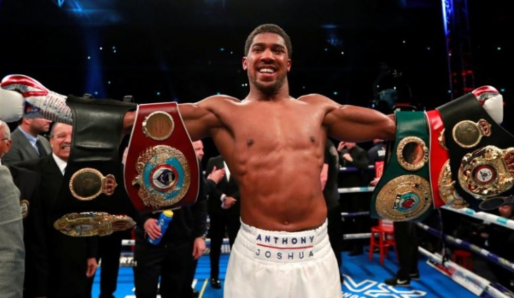 14 - Anthony Joshua: $55 M