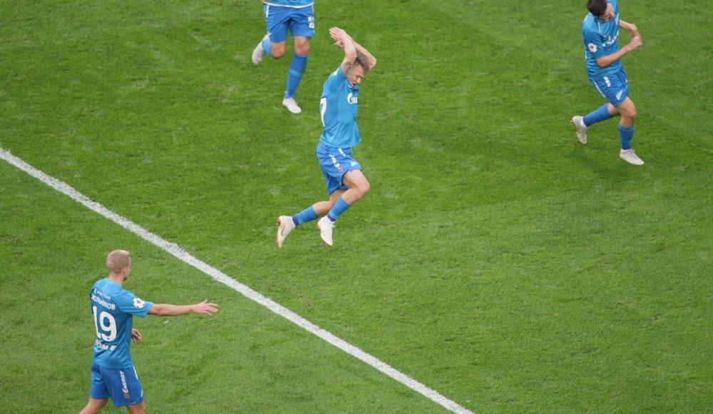 8 gollü maçta gülen Zenit! Lokomotiv Moskova'nın düşüşü sürüyor...