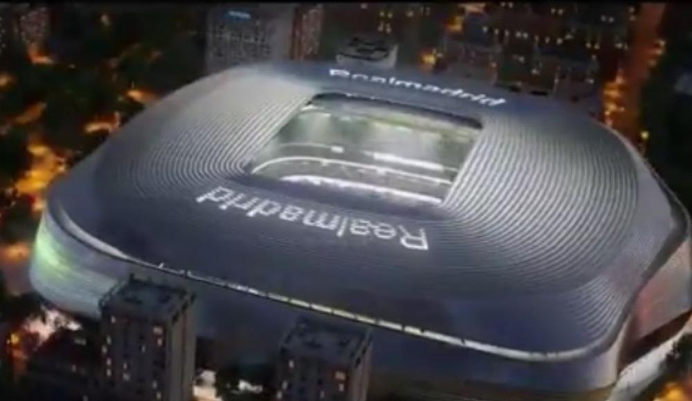 Video - Real Madrid yeni Bernabeu'yu böyle tanıttı!