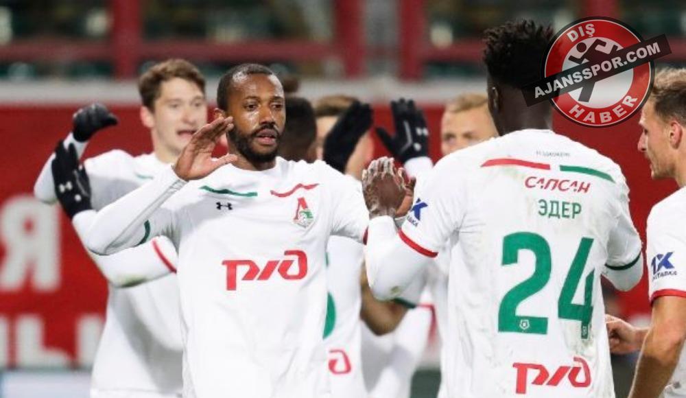 Lokomotiv Moskova evinde güldü! Fernandes...
