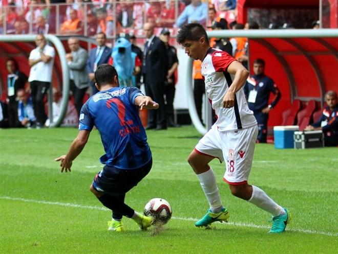 TFF 2. Lig: Samsunspor: 3 - Ankara Demirspor: 1