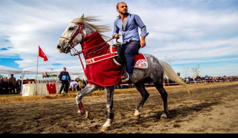 Samsun'da Canik Belediyesi tarafından Rahvan At Yarışları düzenlendi