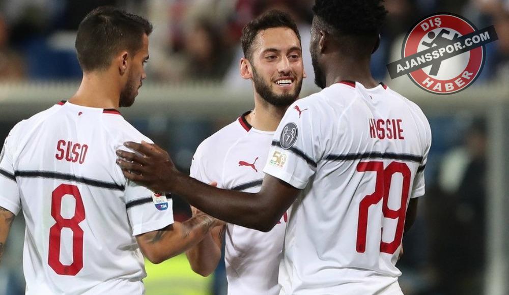 Milan, Sassuolo deplasmanında farka gitti