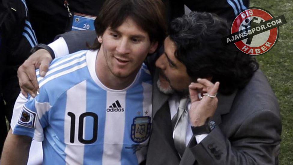 Maradona'dan Messi sözleri: 'Milli takımı bıraksın'
