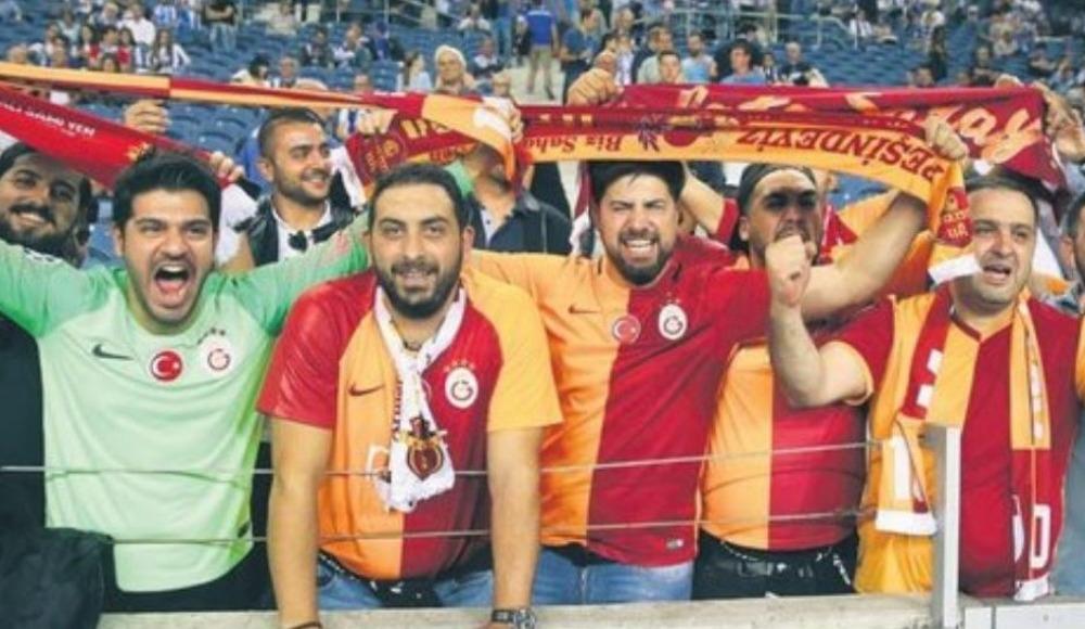 Dragao'da Galatasaray'a tam destek