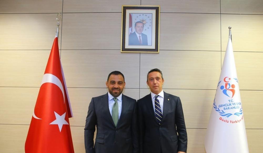 Ali Koç'tan Hamza Yerlikaya'ya ziyaret