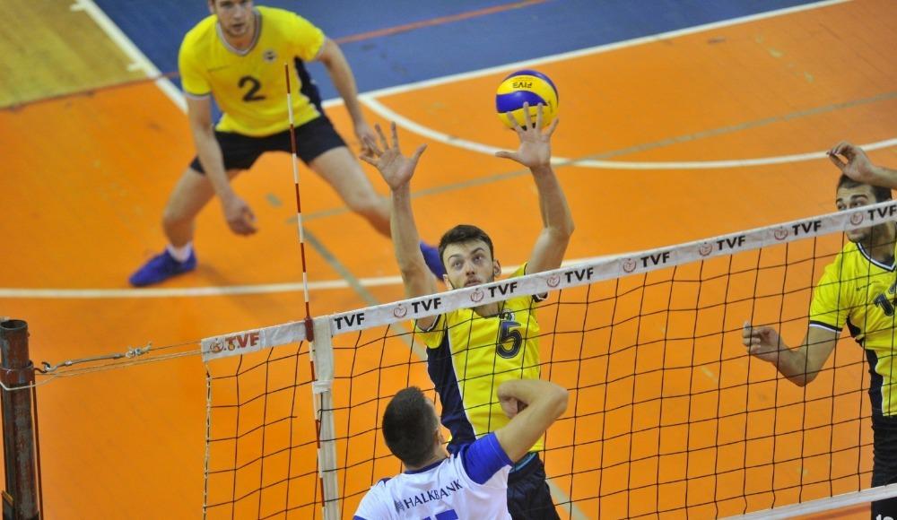 Mobilya Kupası'nın açılış maçında Halkbank, Fenerbahçe'yi mağlup etti