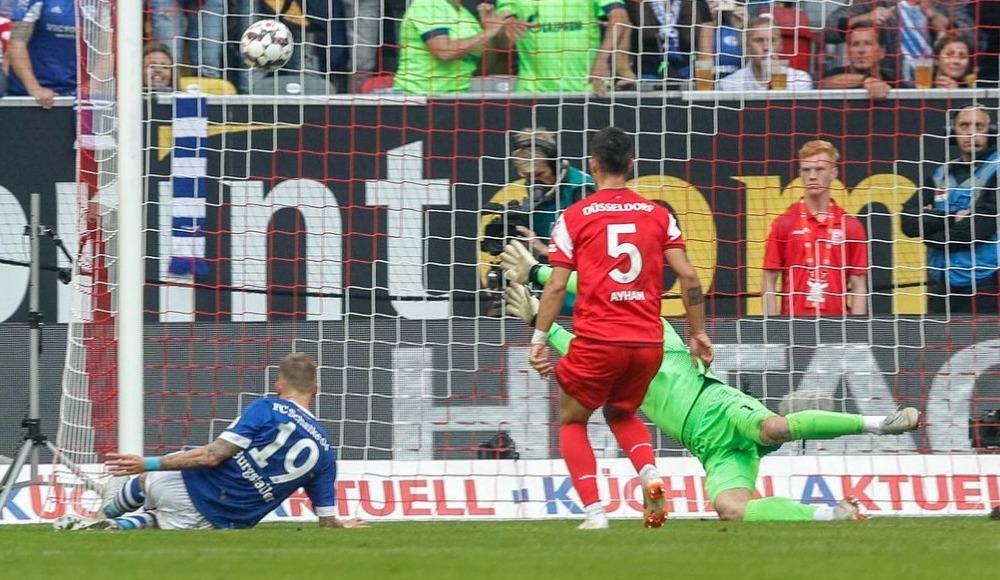 Schalke deplasmanda Fortuna Düsseldorf'u yendi