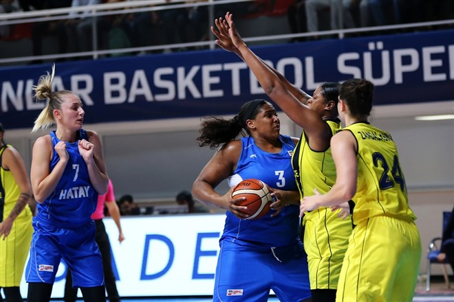 Kadınlar Cumhurbaşkanlığı Kupası Hatay Büyükşehir Belediyespor'un!