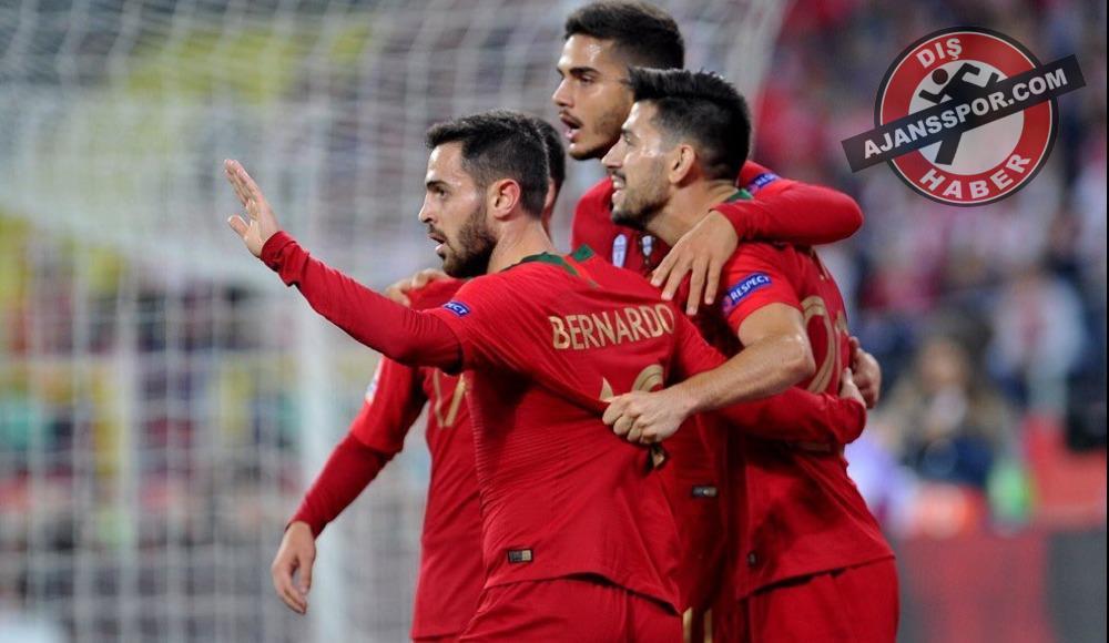 5 gollü maçta kazanan Portekiz oldu!