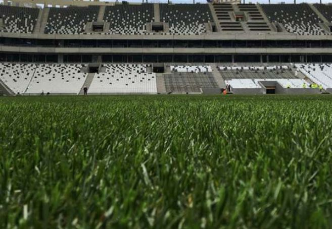 Vodafone Park Stadı'nın zemininde düzelmeler var
