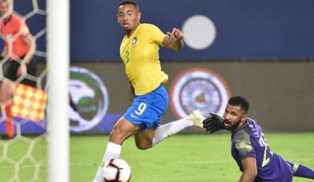 Brezilya hazırlık maçında Suudi Arabistan'ı rahat geçti!