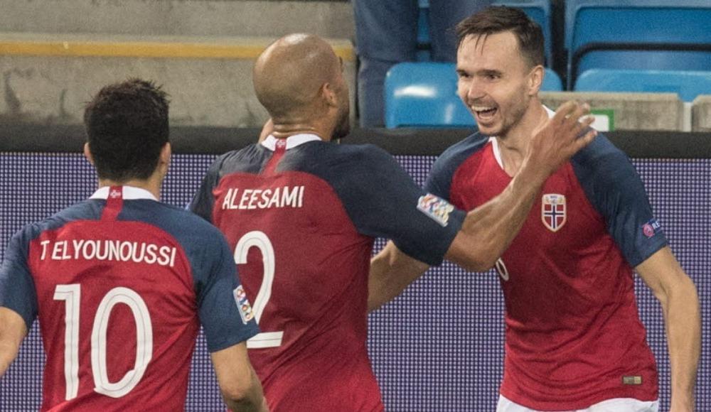 Norveç 3 puanı tek golle aldı!
