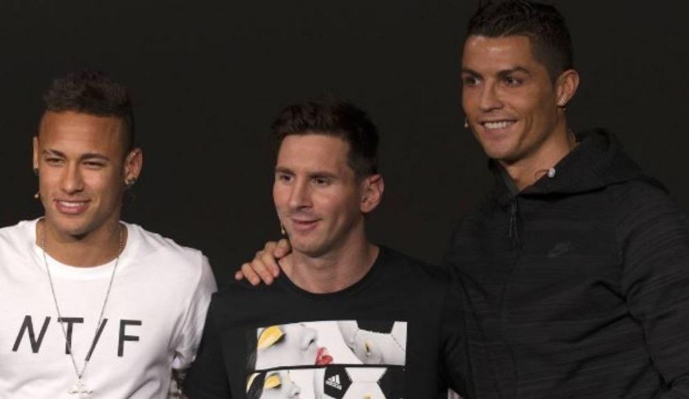 Ronaldo, Messi ve Neymar'ı geride bıraktı!