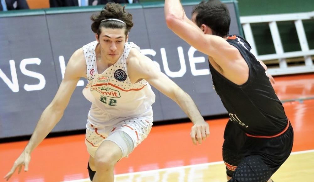 Banvit, FIBA Şampiyonlar Ligi'nde Le Mans'ı mağlup etti