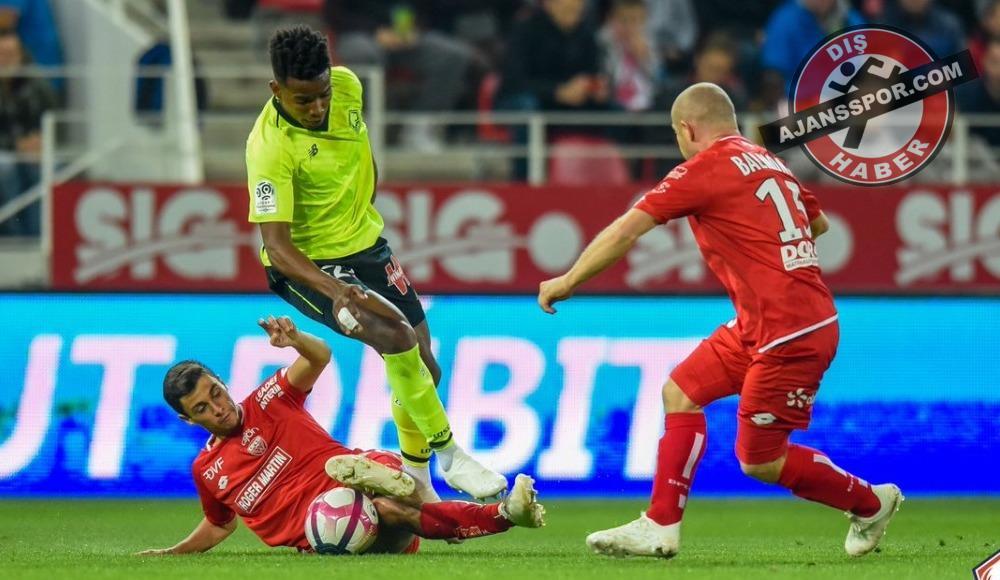 Mehmet Zeki Çelik asist yaptı, Lille deplasmanda kazandı