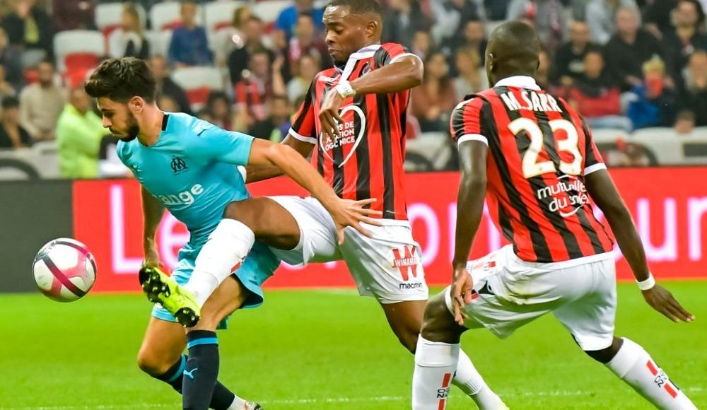 Marsilya, deplasmanda Nice'i 1-0 mağlup etti