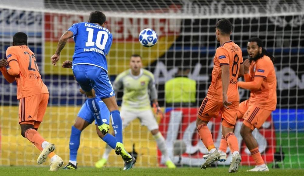 Gol düellosunda kazanan çıkmadı! Hoffenheim 3-3 Lyon