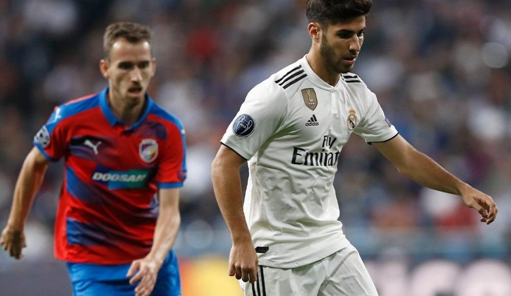 Real Madrid, sahasında Viktoria Plzen'ı mağlup etti