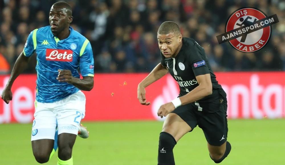 Paris Saint-Germain, sahasında Napoli ile berabere kaldı