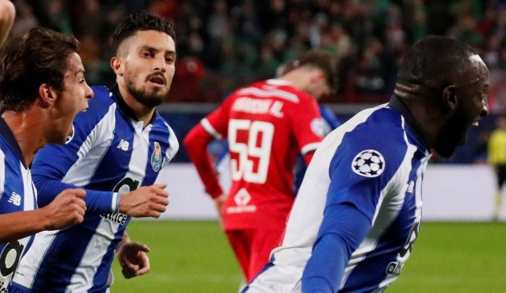 Porto, Lokomotiv Moskova'yı rahat geçti