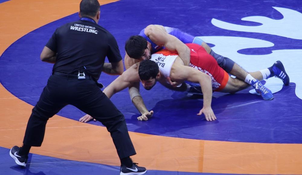 Metehan Başar, Dünya Grekoromen Güreş Şampiyonası'nda finalde
