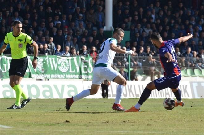 Kırşehir Belediyespor, sahasında Düzcespor'u 1-0 mağlup etti