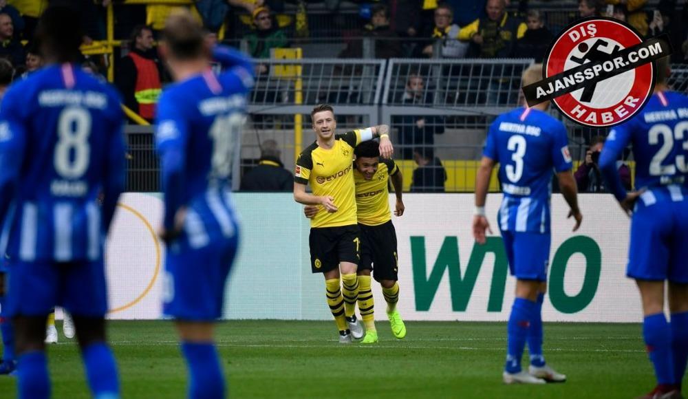 Dortmund'a son dakika penaltı şoku! Dortmund 2-2 Herta Berlin