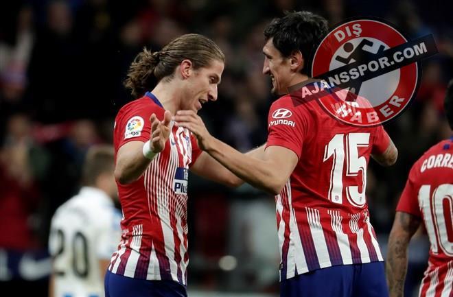 Atletico Madrid, Real Sociedad'ı 2-0 mağlup etti