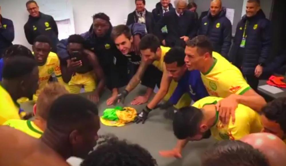 Video - Vahid Halilhodzic ile çıkış yakalayan Nantes'ta büyük sevinç