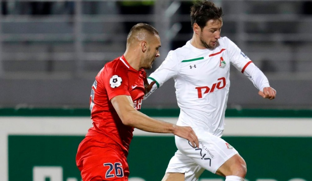 Lokomotiv Moskova rahat kazandı!