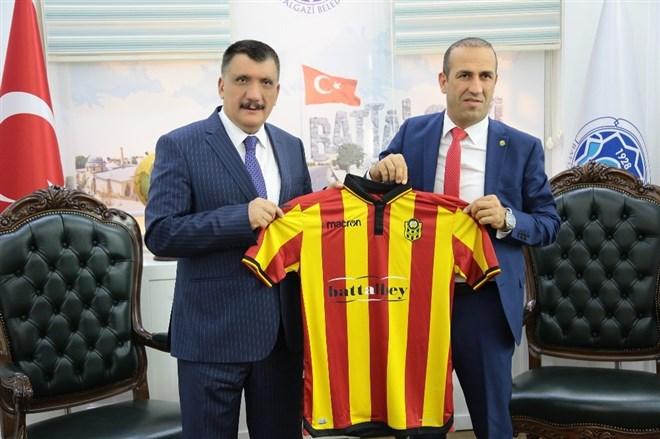 Yeni Malatyaspor Başkanı Gevrek'ten Gürkan'a ziyaret