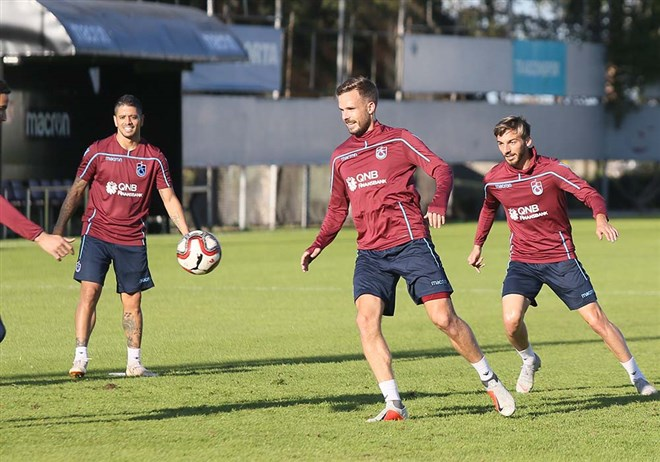 Trabzonspor'da Kayserispor maçı hazırlıkları devam ediyor