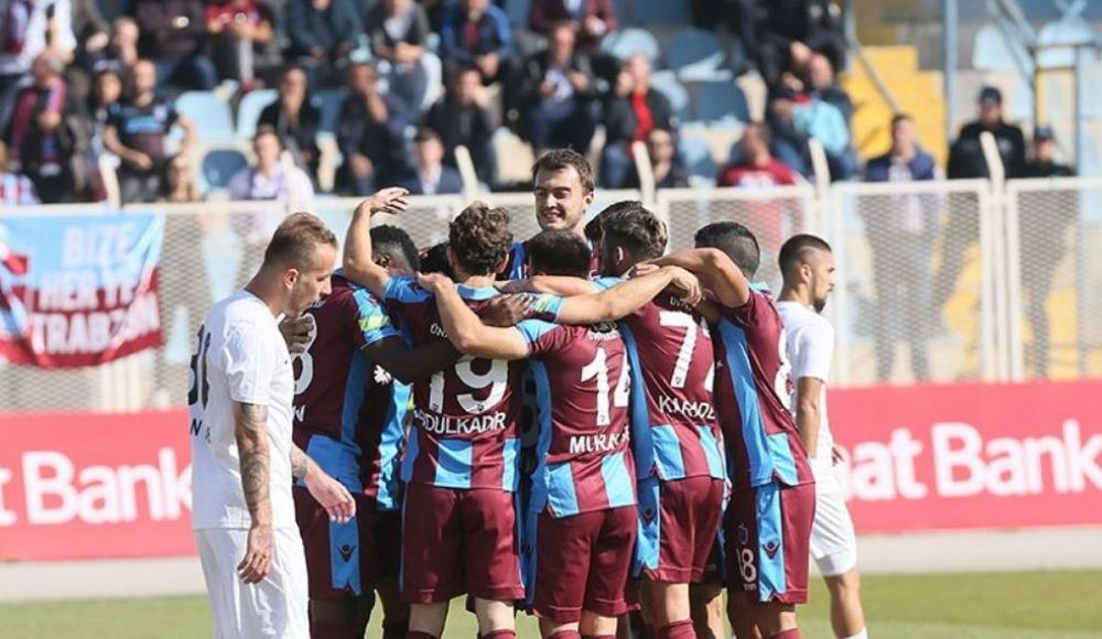 Trabzonspor ilk yarıda fişi çekti, kupada turladı!
