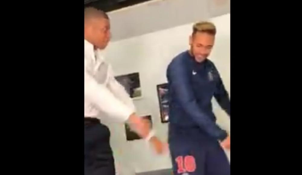 Video - Neymar, Mbappe'ye dans dersi