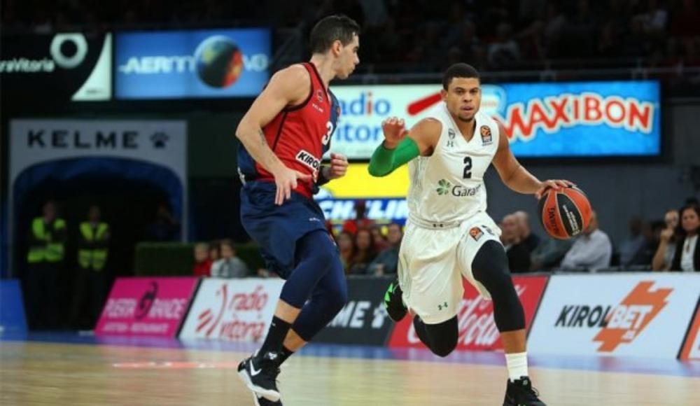 Darüşşafaka Tekfen Erkek Basketbol Takımı, Baskonia'ya 82-56 yenildi