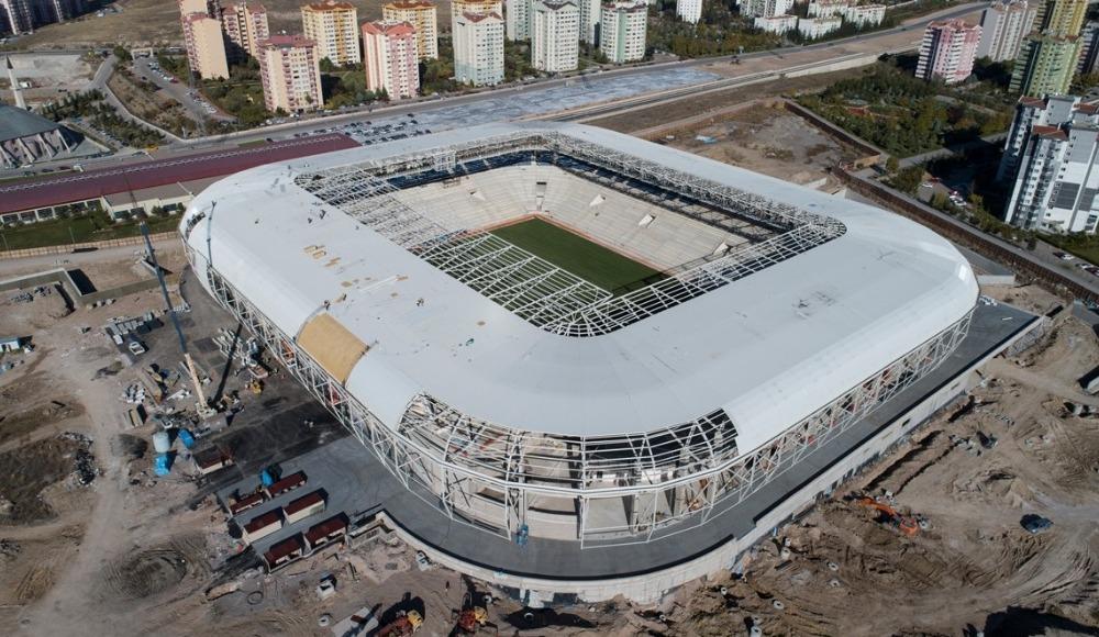 Eryaman Stadı'nın, Ankaragücü-Beşiktaş maçına yetiştirilmesi planlanıyor