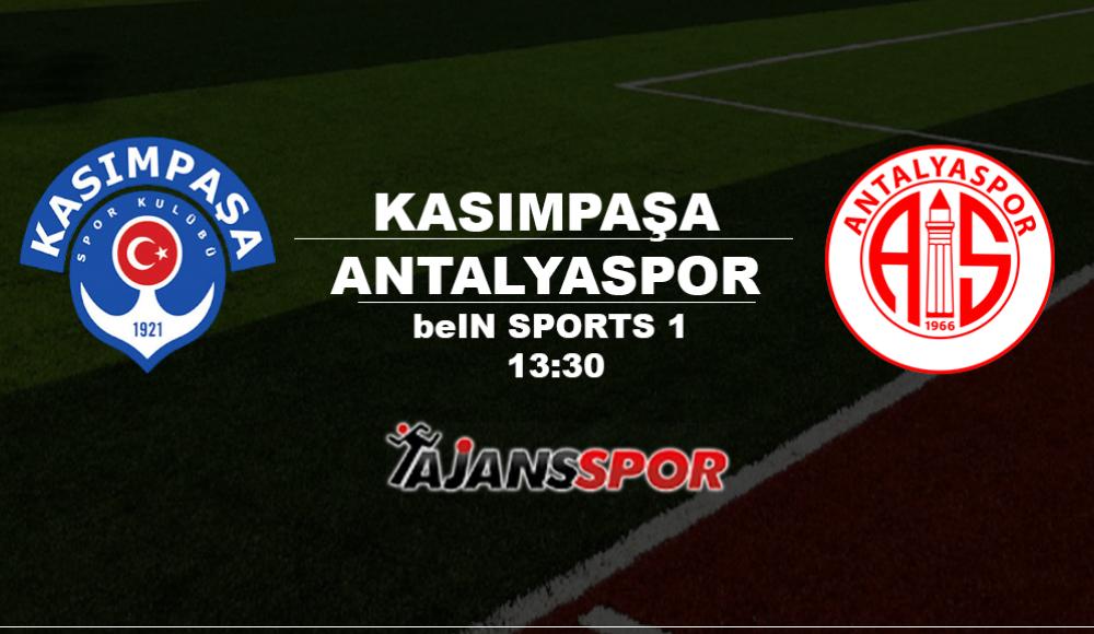 Kasımpaşa - Antalyaspor (Canlı Skor)