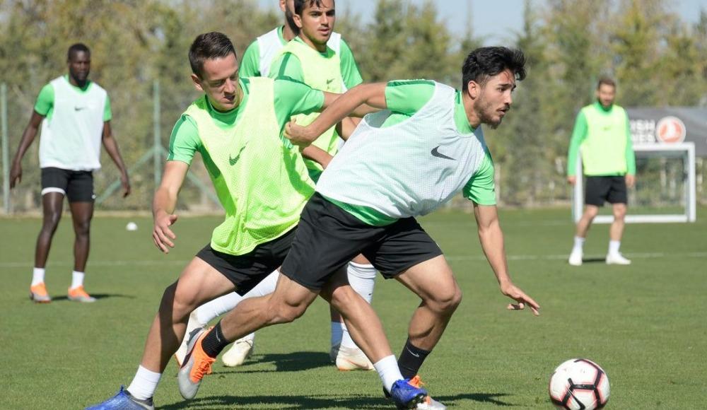 Atiker Konyaspor'da Demir Grup Sivasspor maçı hazırlıkları devam ediyor