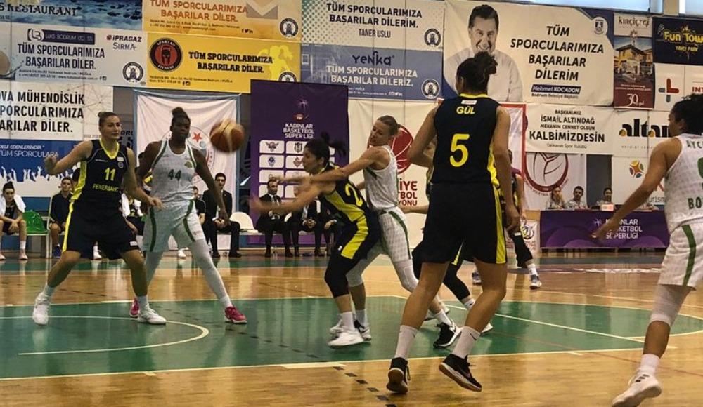 Kırçiçeği Bodrum, evinde Fenerbahçe'ye de farklı mağlup oldu: 59-105