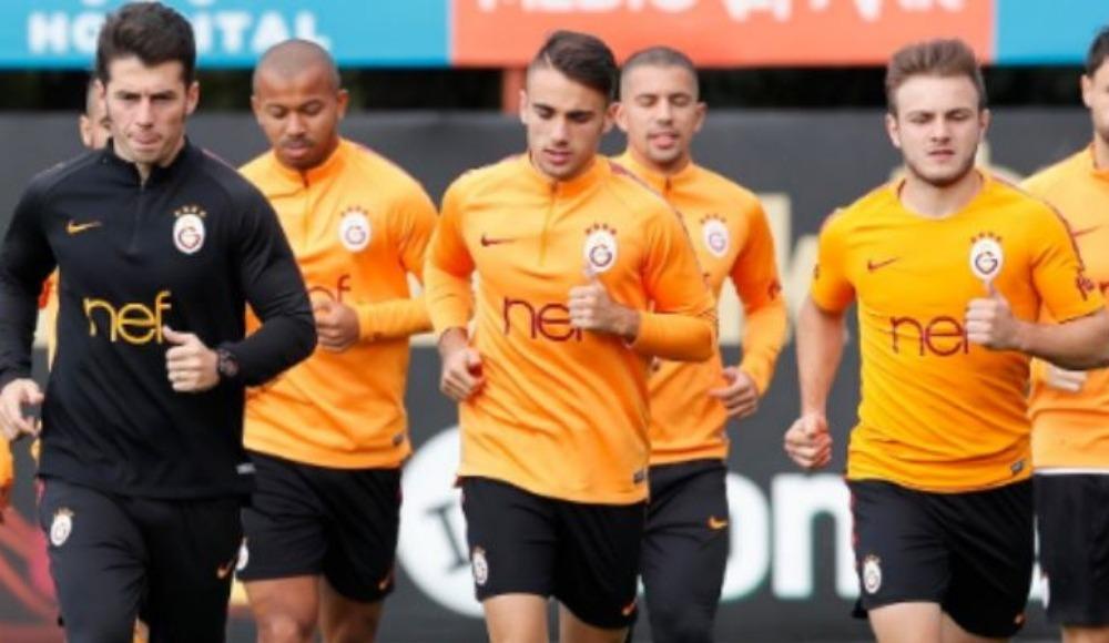 Galatasaray'da Şampiyonlar Ligi hazırlığı başladı