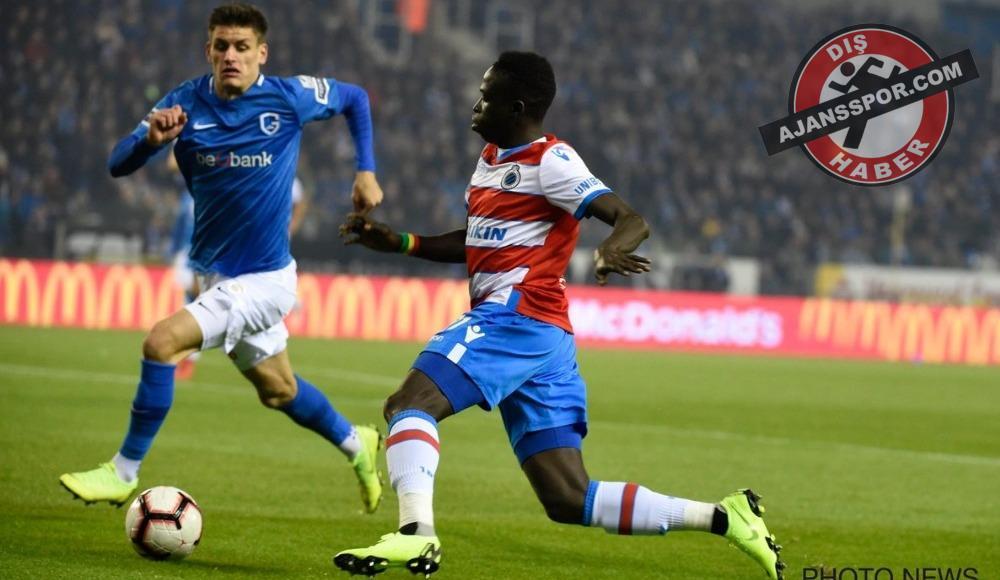 Genk yine kaybetmedi! Genk 1-1 Club Brugge