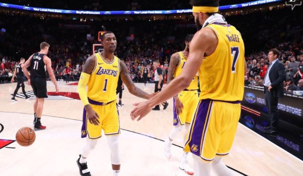 Lakers 16 maç sonra Portland'ı devirdi!