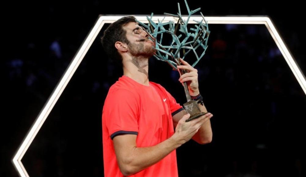 Paris Masters'ta şampiyon Khachanov! Djokovic'in serisi sona erdi...