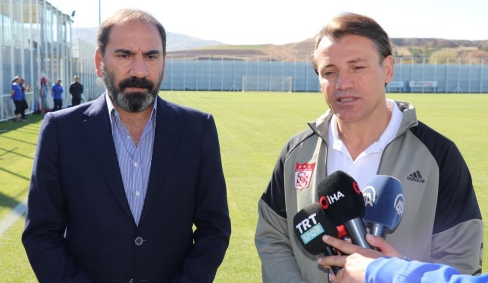 Sivasspor'da teknik direktör için üç aday!