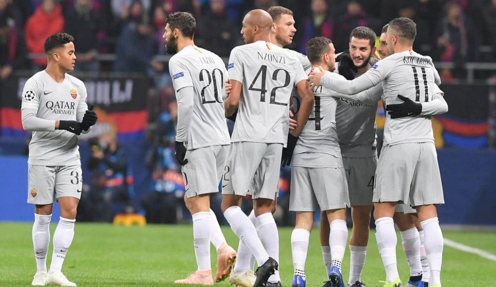 Roma evinde CSKA'yı 2 golle geçti