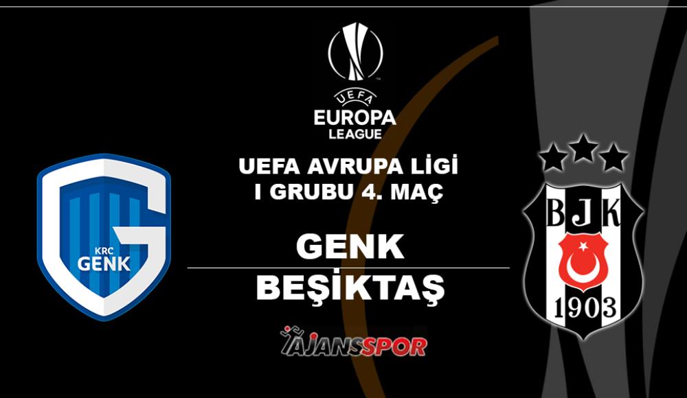 Genk - Beşiktaş (Canlı Skor)