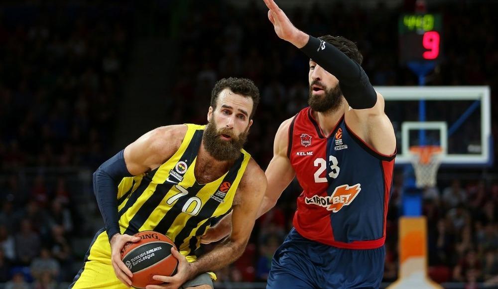Fenerbahçe, Baskonia deplasmanında galip ayrıldı