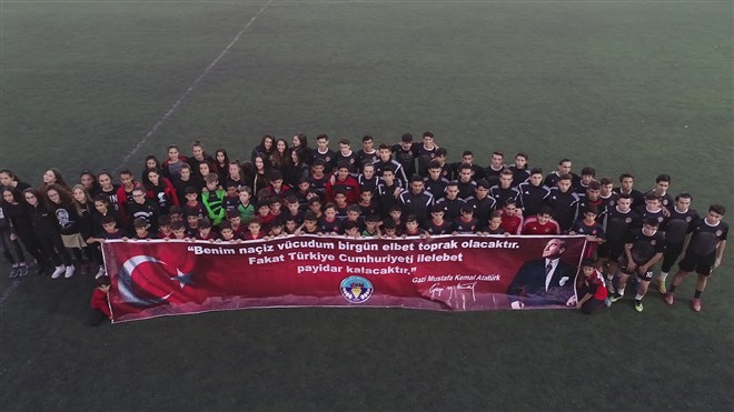 Turgutlu Belediyespor'dan 10 Kasım'a özel anma